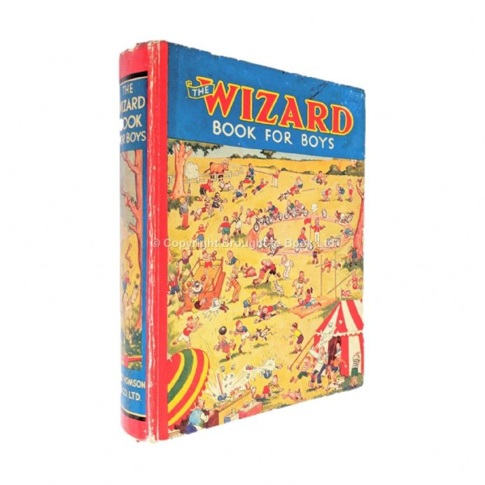 The Wizard Book for Boys 1937 D.C Thomson